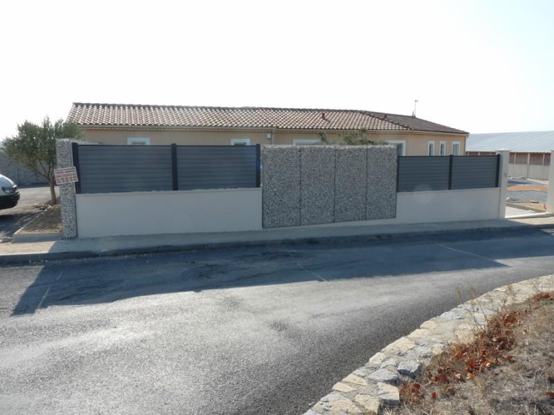 Mur en pierre saint christol les ales